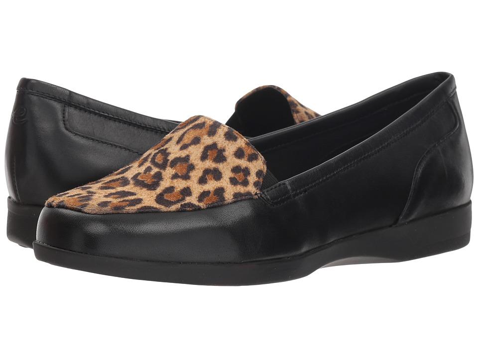 Easy Spirit Devitt 10 (Black/Natural/Black) Women's Shoes