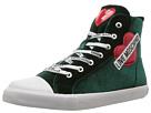 LOVE Moschino LOVE Moschino Velvet High Top Sneaker w/ Heart Logo