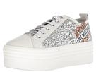 LOVE Moschino LOVE Moschino Glitter Platform Sneaker