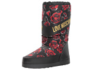 LOVE Moschino LOVE Moschino Rose Print Snow Boot
