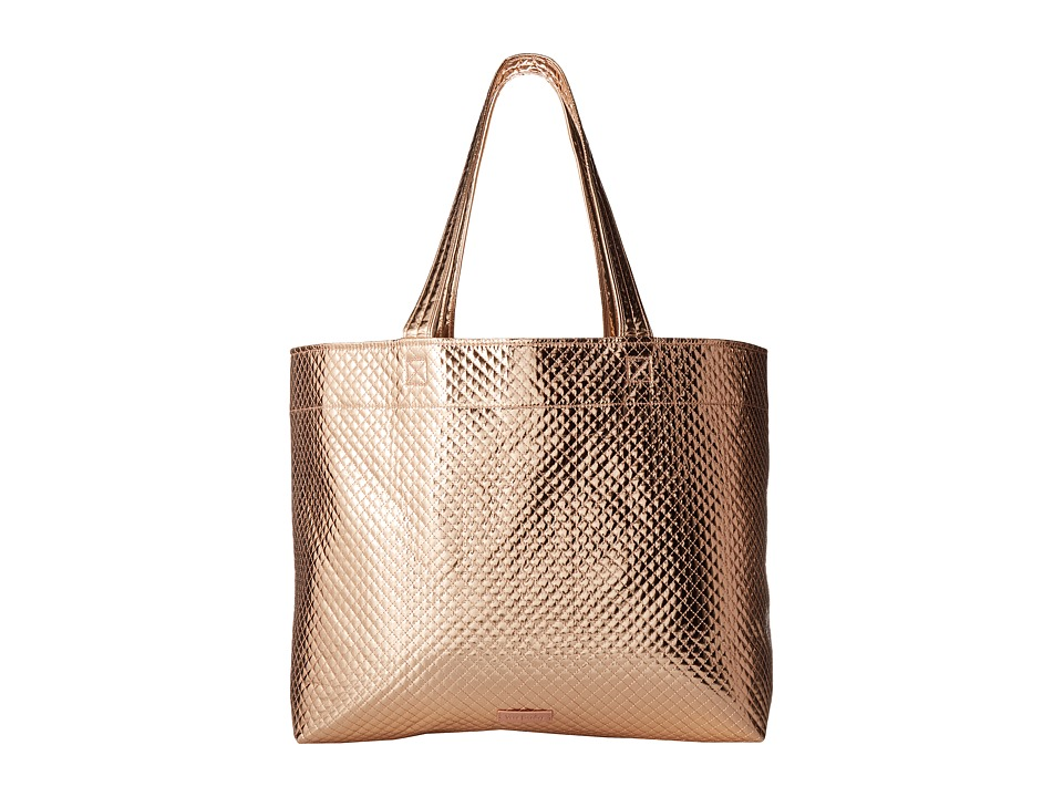 Vera Bradley - Iconic Grand Tote (Rose Gold Shimmer) Tote Handbags