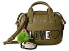 LOVE Moschino #Love Logo Crossbody Bag w/ Keychain