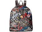 LOVE Moschino Graffiti Print Backpack