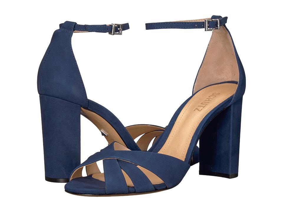 Schutz Alzira (Dress Blue) Women's Shoes