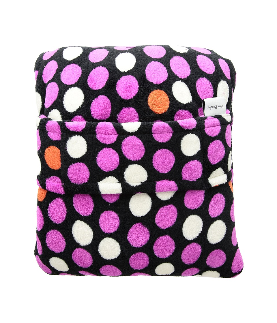 Vera Bradley - Fleece Travel Blanket (Butterfly Spots) Blankets