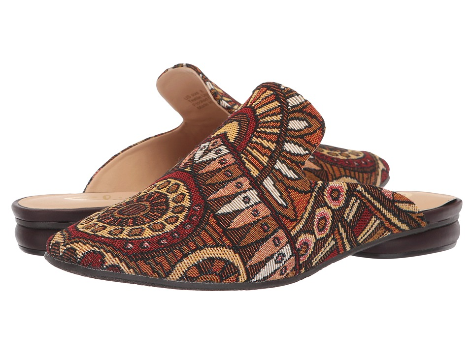 Sbicca Evangeline (Brown/Multi) Slip-On Shoes