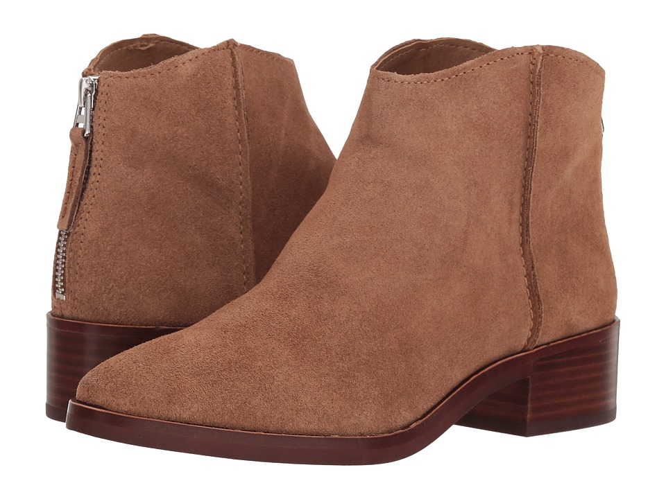 Dolce Vita Tucker (Dark Saddle Suede) Women's Pull-on Boots