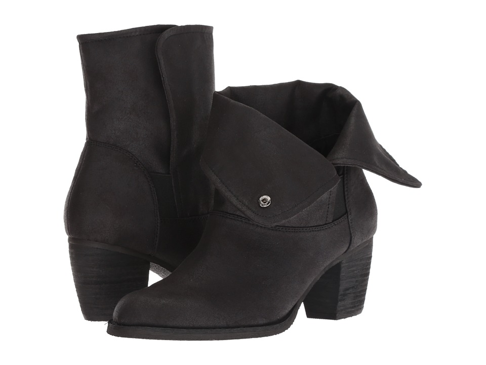 Sbicca Nicola (Black) Women's Pull-on Boots