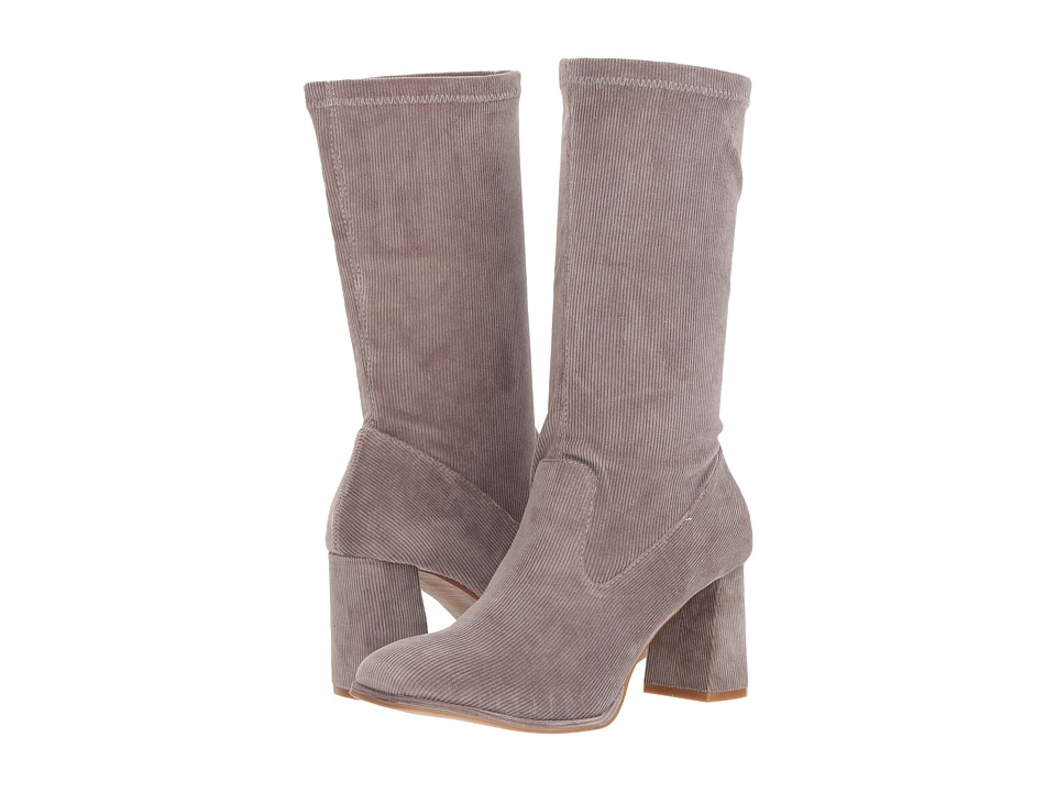 Sbicca Noelani (Grey) Women's Pull-on Boots