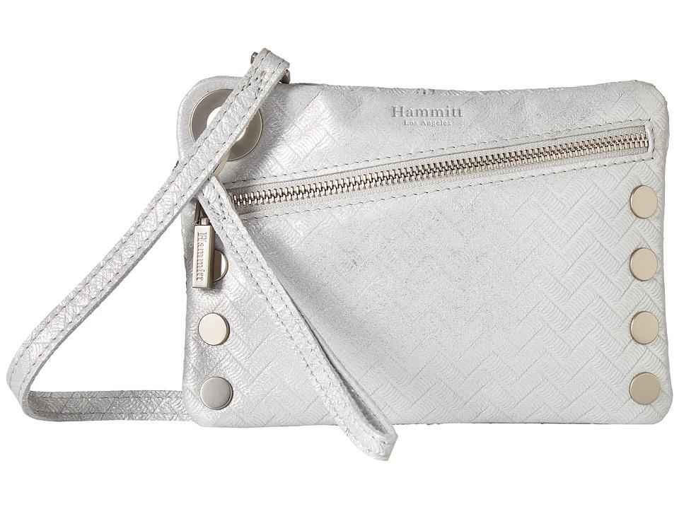 Hammitt - Nash Smalll Winter Chevron BS (Winter Chevron/Brushed Silver) Handbags