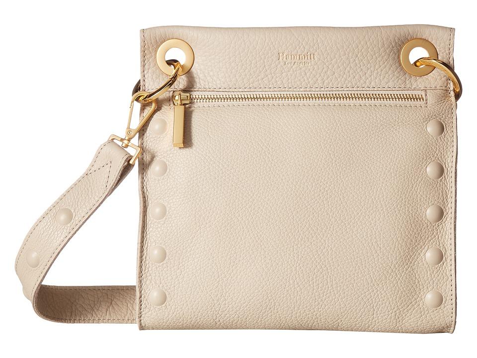 Hammitt - Tony Med Embossed (Sandstone Pebbled/Brushed Gold/Gold) Handbags