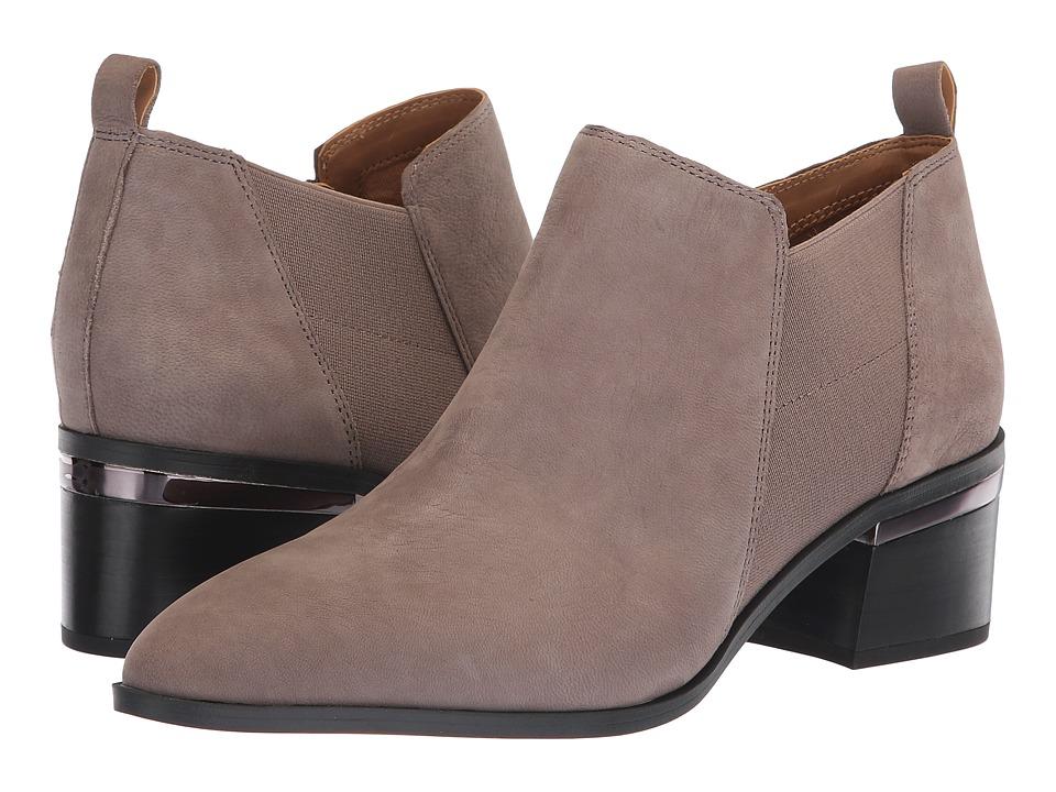 Franco Sarto L-Arden (Iron Satin Nubuck Leather) Women's Shoes