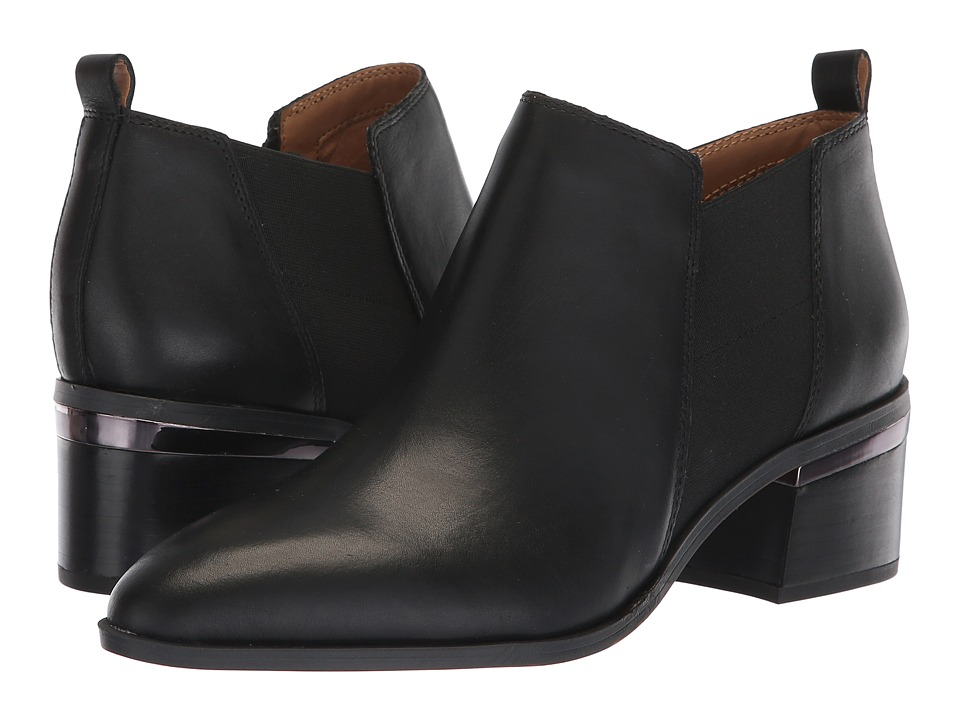 Franco Sarto L-Arden (Black Bally Leather) Women's Shoes