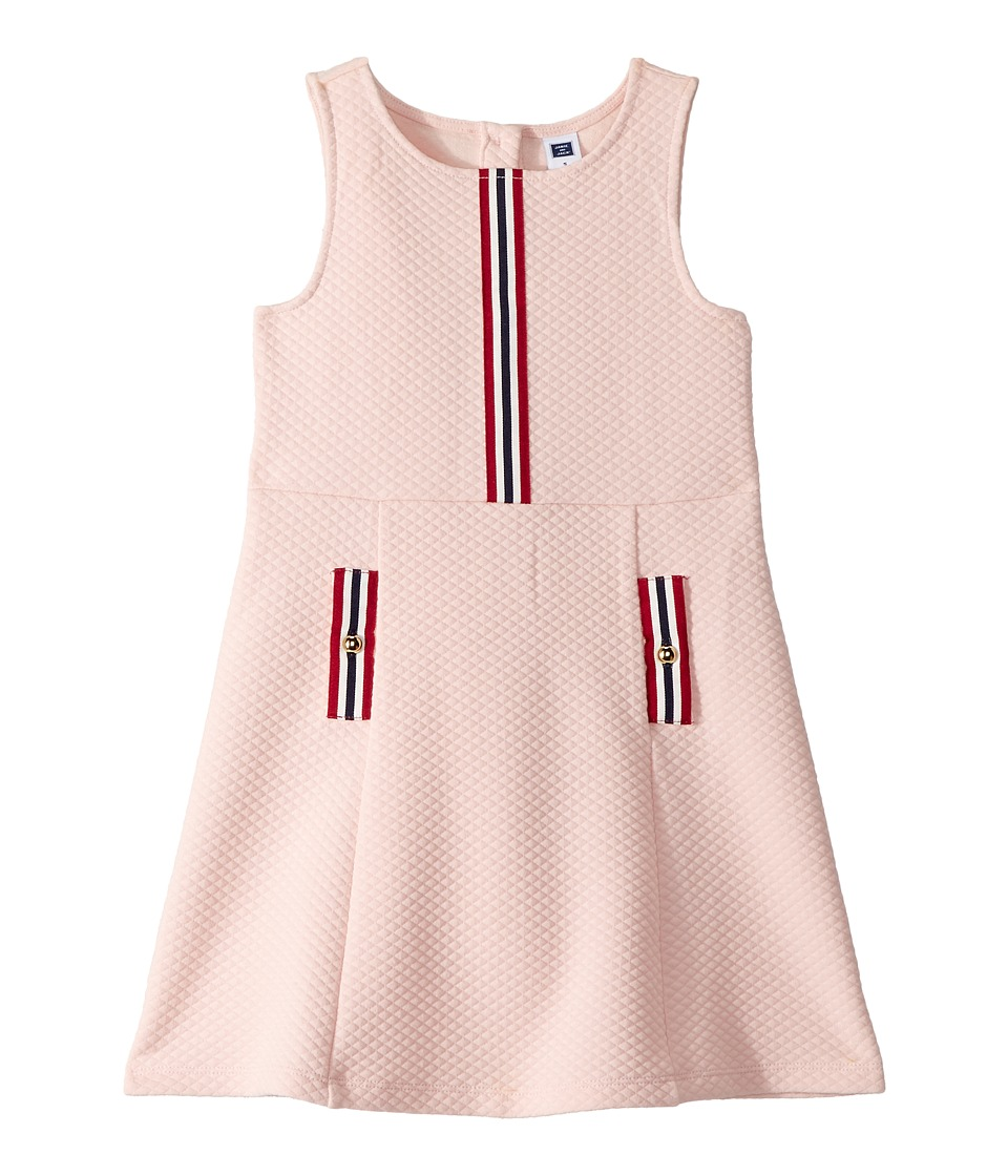60s 70s Kids Costumes & Clothing Girls & Boys Janie and Jack Ponte Dress ToddlerLittle KidsBig Kids Rose Girls Dress $49.00 AT vintagedancer.com
