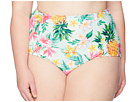 Unique Vintage Plus Size Phillipa Swim Bottom
