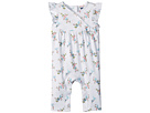 Janie and Jack Knit Floral Pants One-Piece (Infant)
