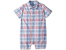Janie and Jack Gingham One-Piece (Infant)