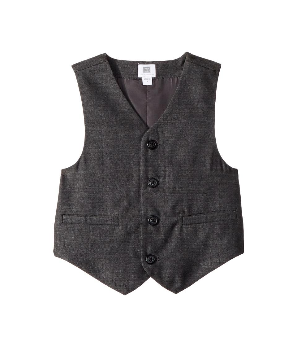1920s Children Fashions: Girls, Boys, Baby Costumes Janie and Jack Dress Up Vest ToddlerLittle KidsBig Kids Grey Boys Vest $69.00 AT vintagedancer.com