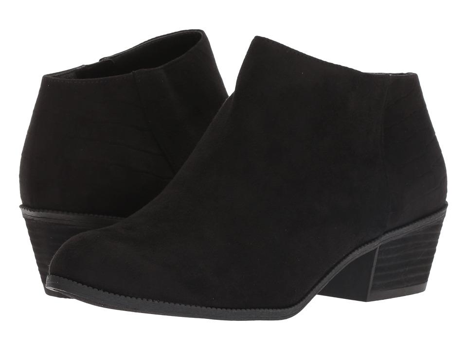 Dr. Scholl's Brendel (Black Microfiber) Women's Shoes