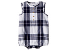 Janie and Jack Button Front Sunsuit (Infant)