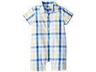 Janie and Jack Plaid Woven One-Piece (Infant)