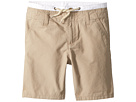 Janie and Jack Double Waistband Flat Front Shorts (Toddler/Little Kids/Big Kids)