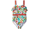 Janie and Jack Ribbon Trim One-Piece Swimsuit (Toddler/Little Kids/Big Kids)