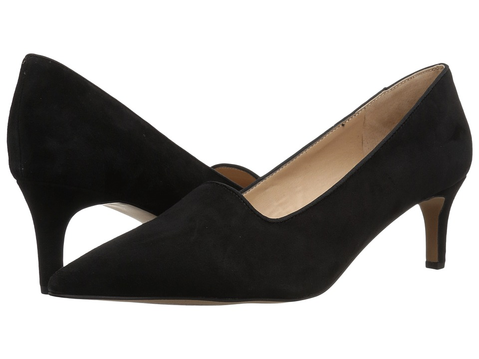 Franco Sarto L-Danelly (Black Diva Suede) Women's Shoes