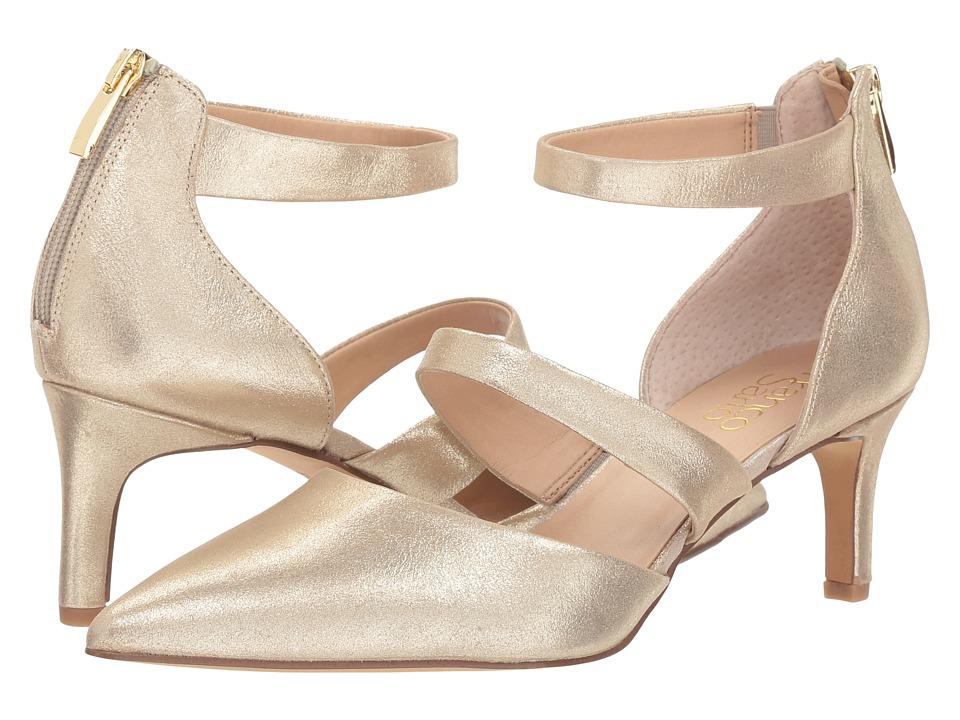 Franco Sarto Davey (Platino Spirit Leather) Women's Shoes