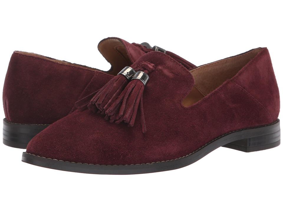 Franco Sarto Hadden (Deep Merlot Velour Suede) Women's Shoes