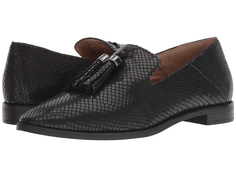 Franco Sarto Hadden (Black Viper Leather) Women's Shoes