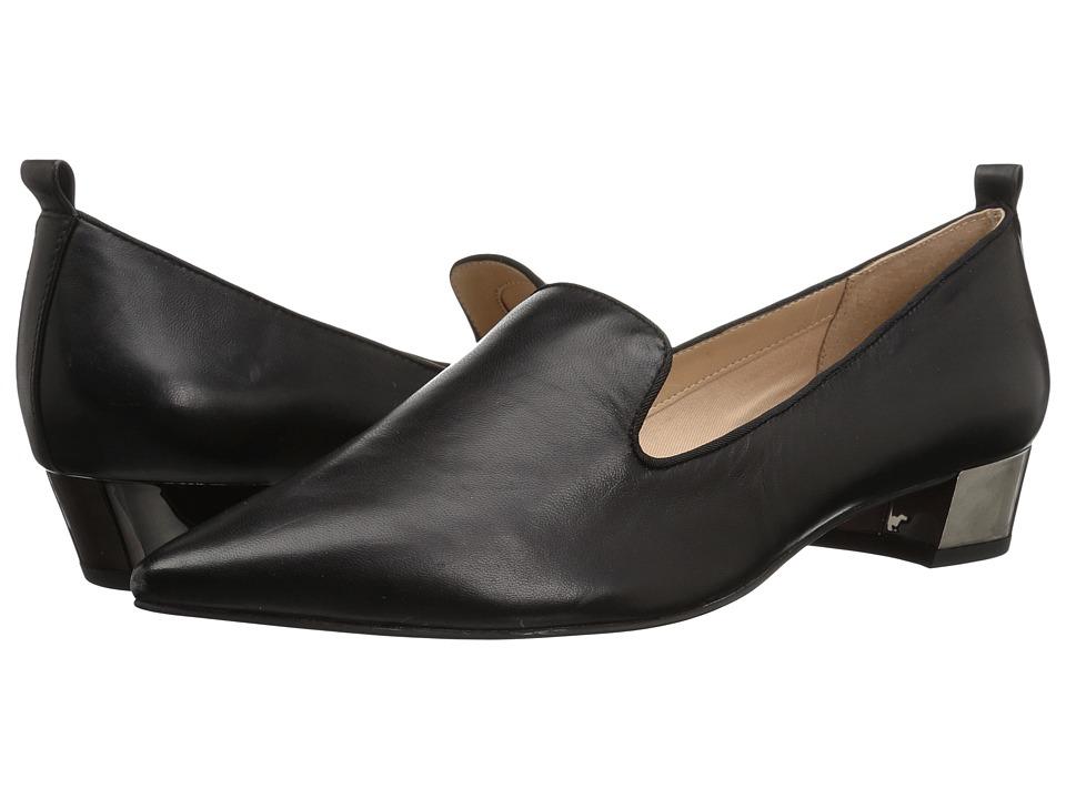 Franco Sarto L-Vianna (Black Butter Nappa Leather) Women's Shoes