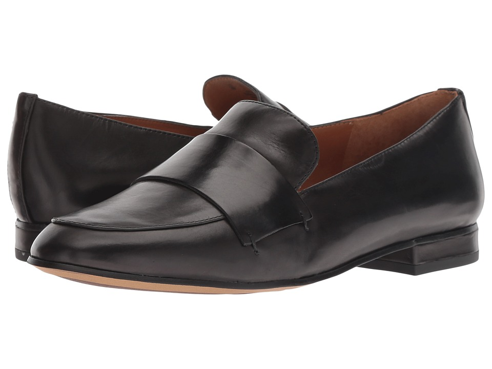 Franco Sarto A-Kip (Black Resina Corona Leather) Women's Shoes