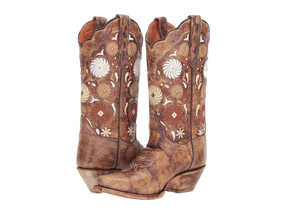 Dan Post Cheree (Tan) Women's Cowboy Boots