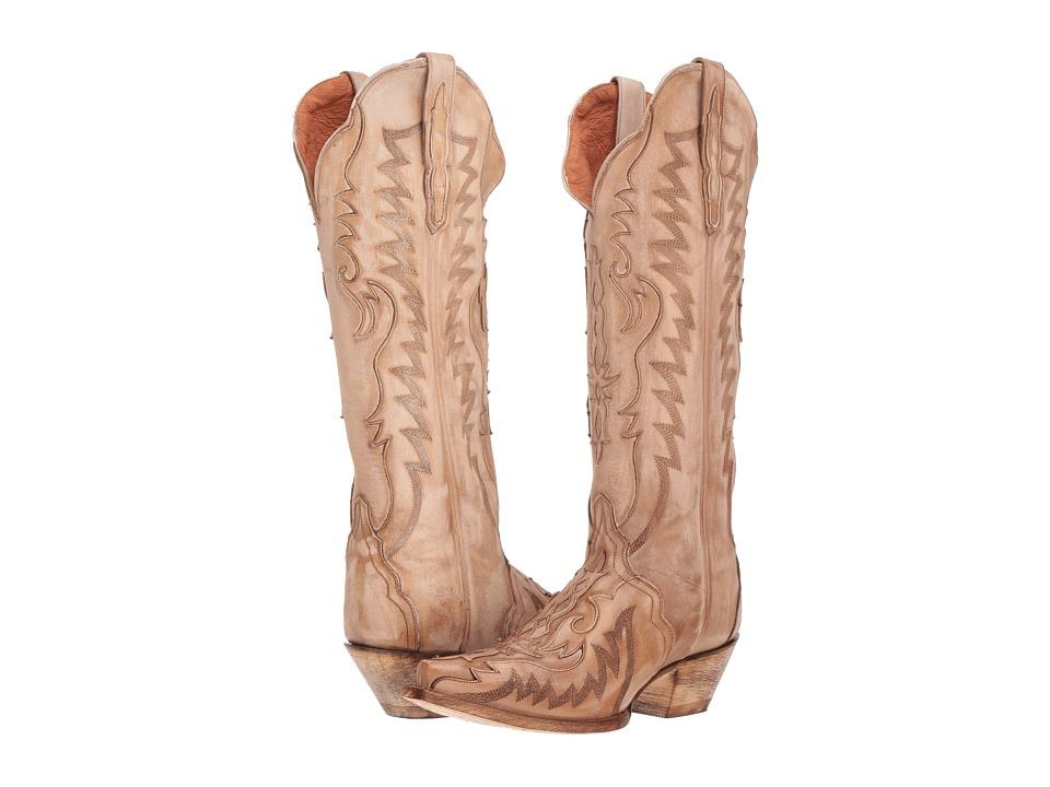 Dan Post Hallie (Bone) Women's Cowboy Boots