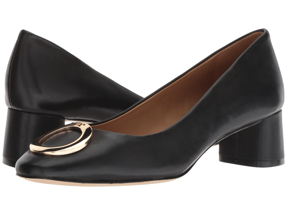 Tory Burch Caterina 45mm Pump (Perfect Black) Women's Shoes