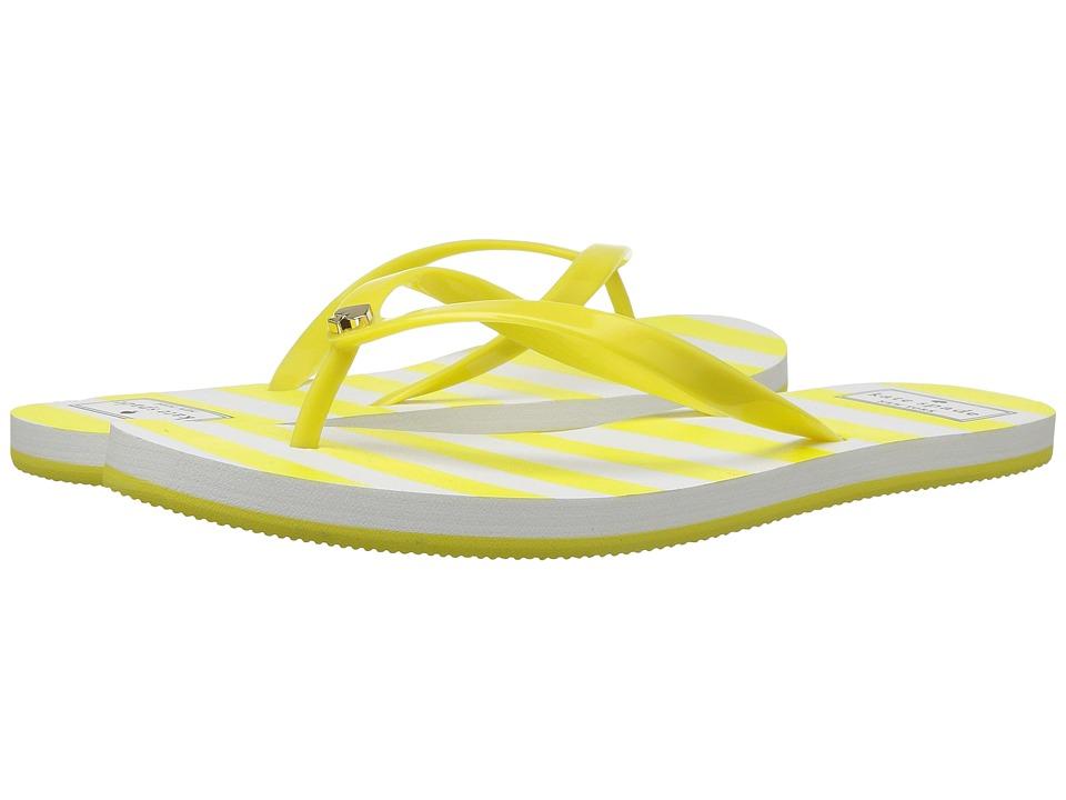 Kate Spade New York Nassau (Yellow/White) Women's Shoes