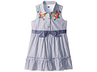 Janie and Jack Blue Stripe Shirtdress (Toddler/Little Kids/Big Kids)