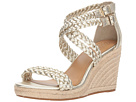 Tory Burch Tory Burch Bailey 2 90mm Ankle Strap Wedge Espadrille