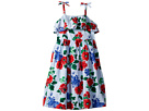 Janie and Jack Floral Gingham Dress (Toddler/Little Kids/Big Kids)