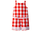 Janie and Jack Red Gingham Dress (Toddler/Little Kids/Big Kids)