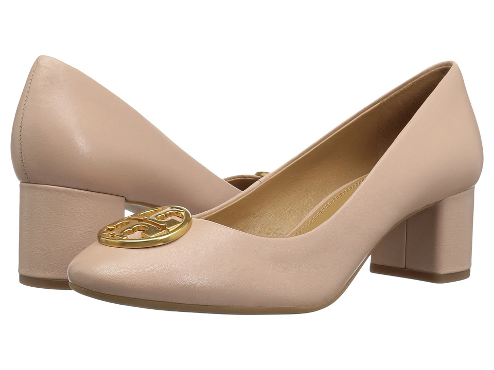 Tory Burch Chelsea 50mm Pump (Goan Sand) Women's Shoes