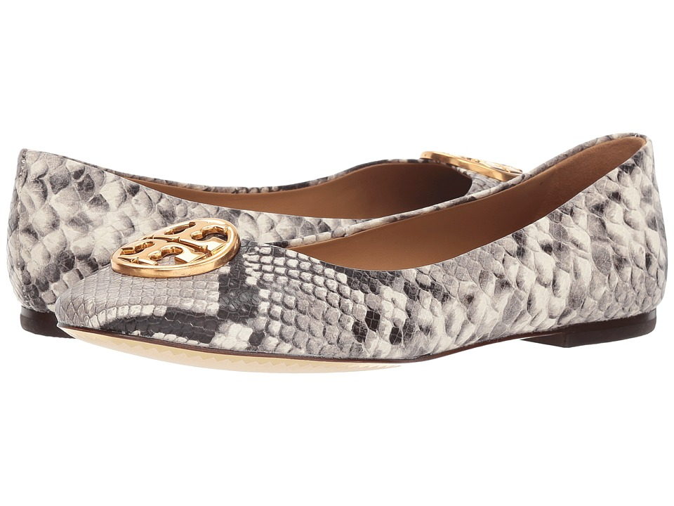 Tory Burch Chelsea Ballet (Warm Roccia) Women's Dress Flat Shoes
