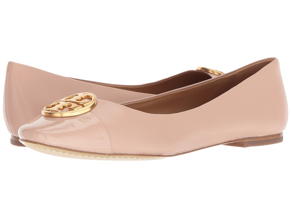 Tory Burch Chelsea Cap-Toe Ballet (Goan Sand/Goan Sand) Women's Shoes