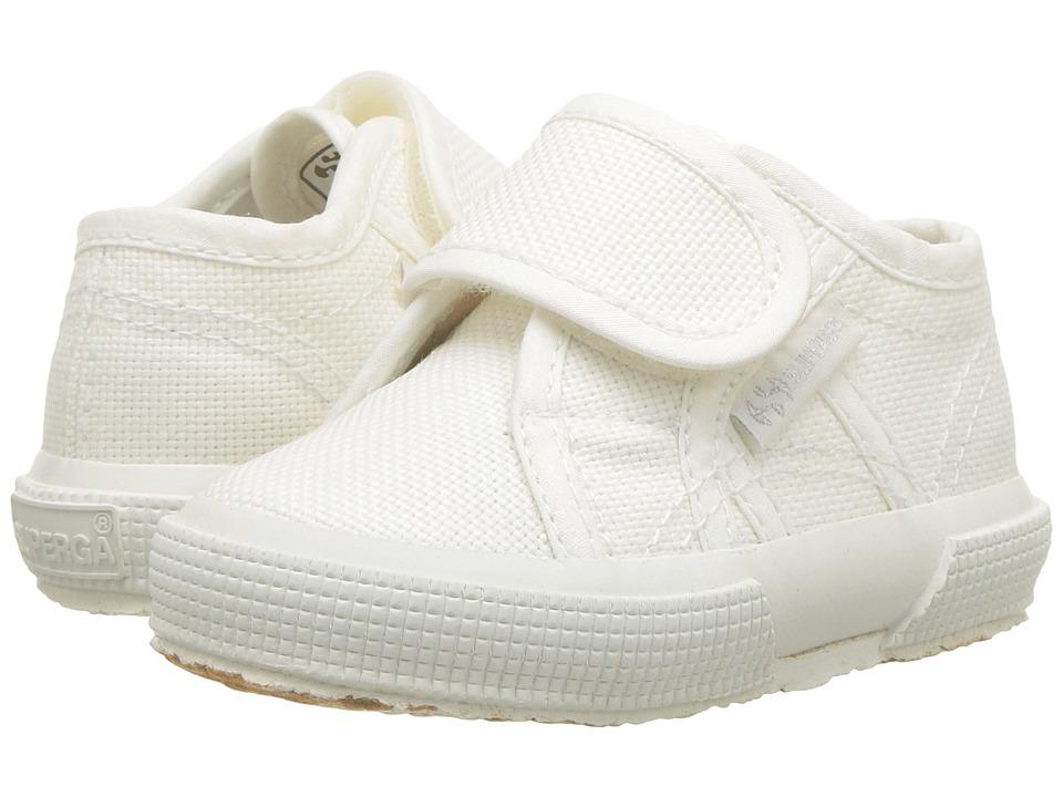 Superga Kids - 2750 JVEL Classic (Infant/Toddler) (Total White) Kids Shoes