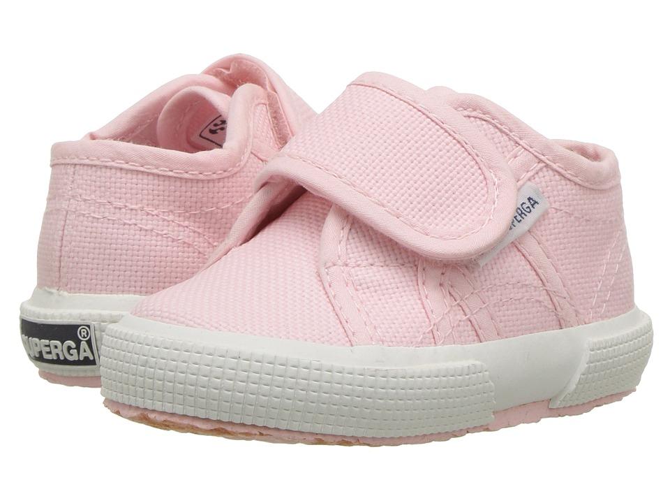 Superga Kids - 2750 JVEL Classic (Infant/Toddler) (Pink) Girls Shoes