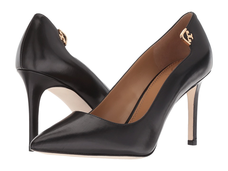 Tory Burch Elizabeth 85mm Pump (Black 1) High Heels