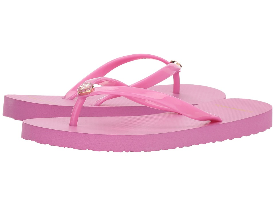 Tory Burch Thin Flip Flop (Magnolia Rosa) Sandals