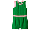 Janie and Jack Sleeveless Matlasse Romper (Toddler/Little Kids/Big Kids)
