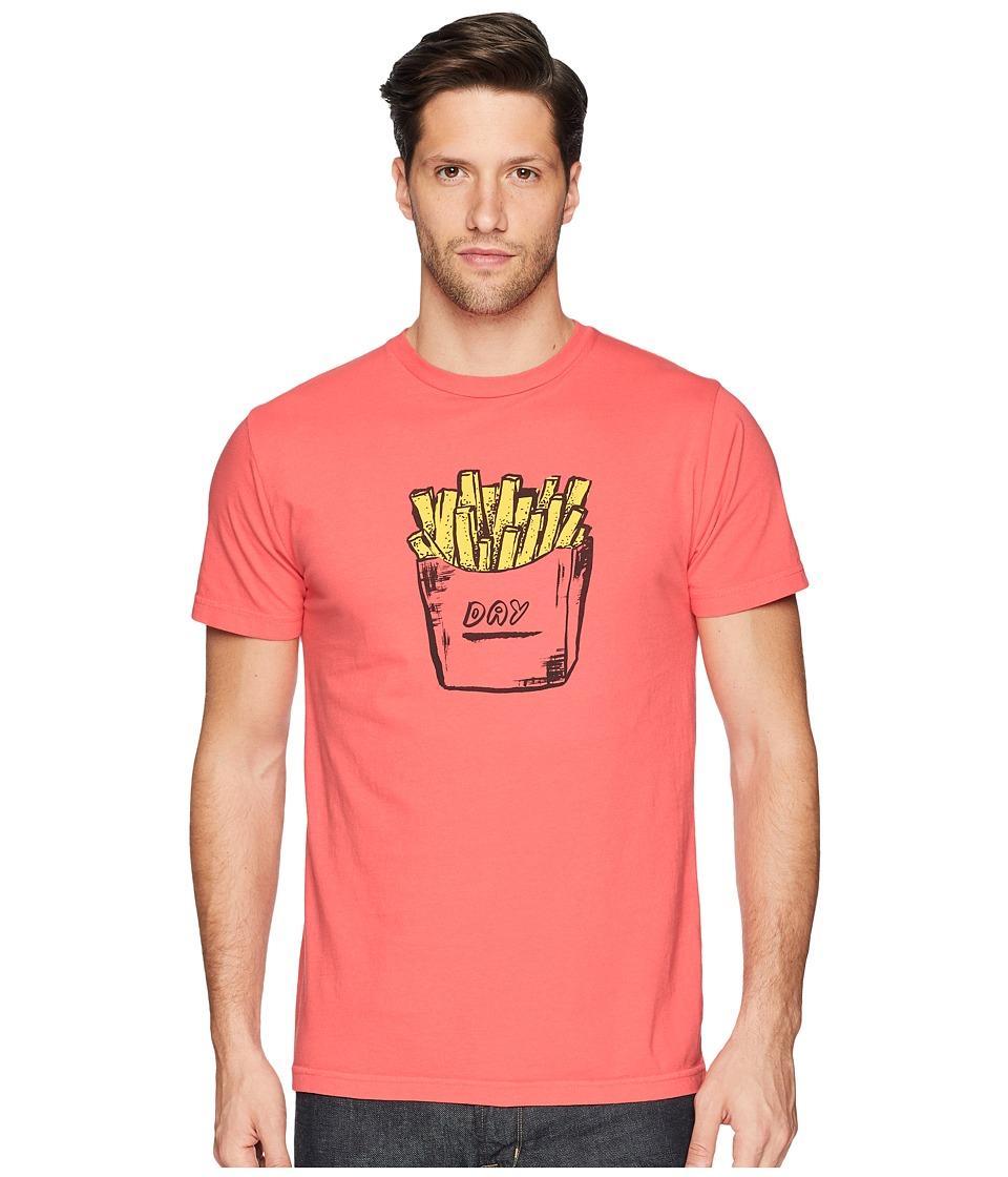 Captain Fin - Fry Day Premium Tee (Melon) Mens T Shirt